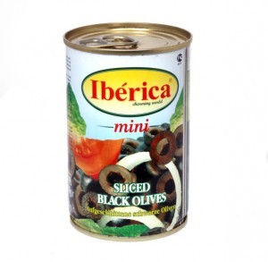 black sliced olives Iberica